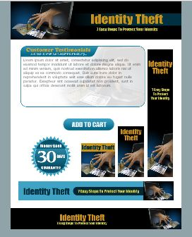 WP & HTML Template Identity Theft