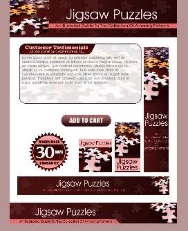 WP & HTML Template Jigsaw Puzzle