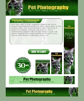 WP & HTML Template Pet Photography
