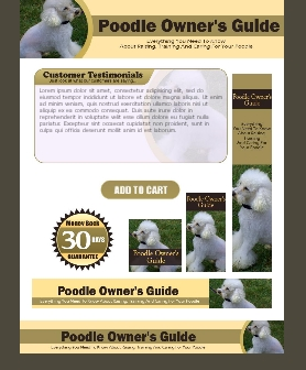 WP & HTML Template Poodle Owner's Guide