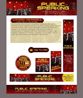WP & HTML Template Public Speaking
