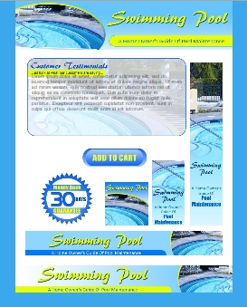 WP & HTML Template Swimming Pool