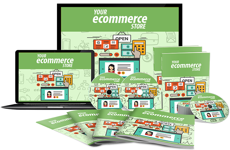 Your Ecommerce Store ( ebook & VDO )